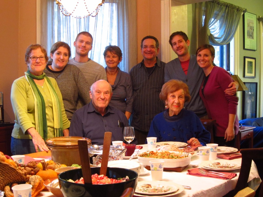Family-- Thanksgiving 2012